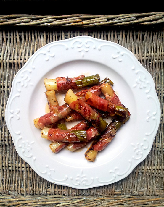 Braised leeks with french vi. - Cook and Post