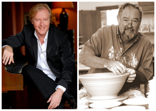 Master Potter David Walters and Concert Pianist Christopher Duigan