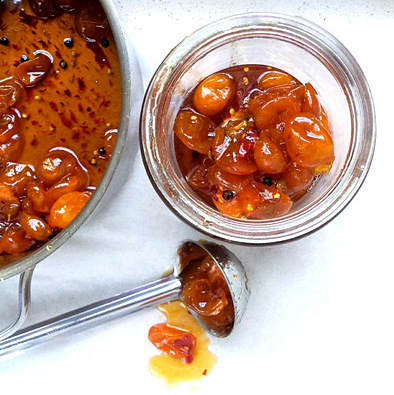 Kumquat, Ginger & Chilli 'Jam'