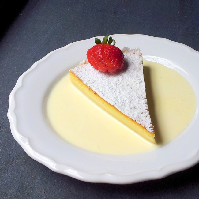 Simply Amazing Magic Custard Tart