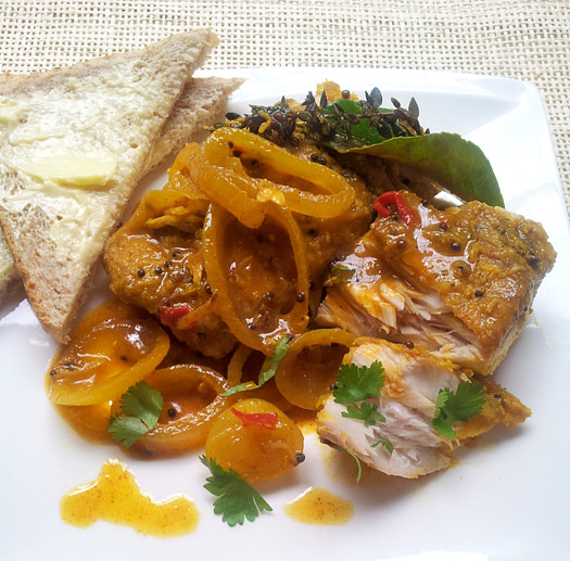 South African Cape Malay Pickled Fish