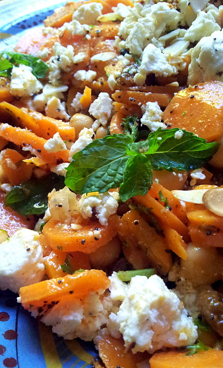 chickpea moroccan roasted carrot and moroccan chickpea carrot moroccan ...