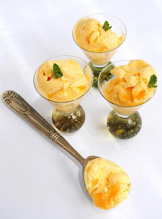 Apricot Ripple Ice Cream