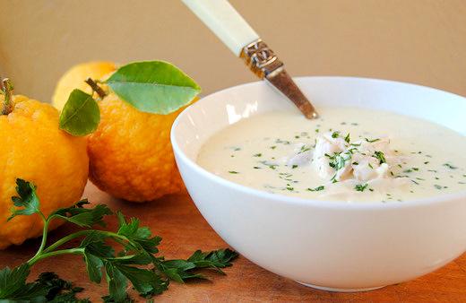 Chicken, Rice, Egg and Lemon: My Flop-Proof Avgolemono Soup