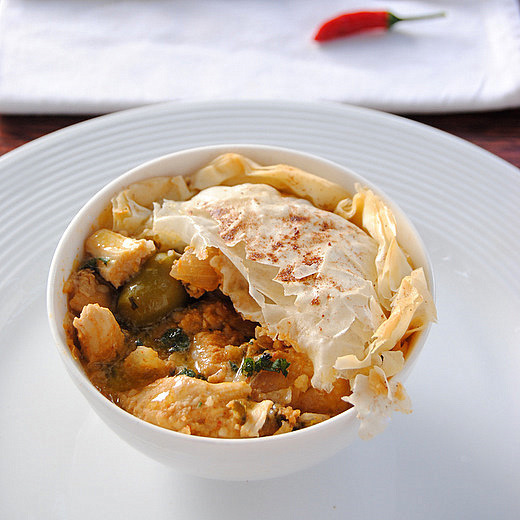 Moroccan-Spiced Chicken Pie