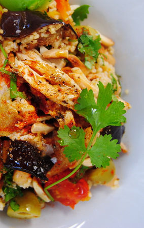 North African Chicken and Couscous 'Everything' Salad