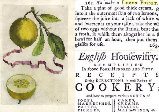 Elizabeth Moxon's Lemon Posset, with Hanepoot