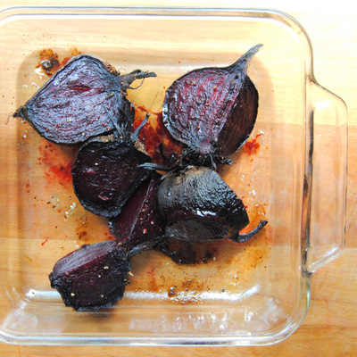 Oven-Roasted Pressed Beetroot