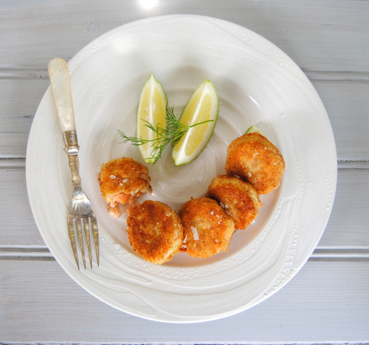 Double Salmon Fish Cakes