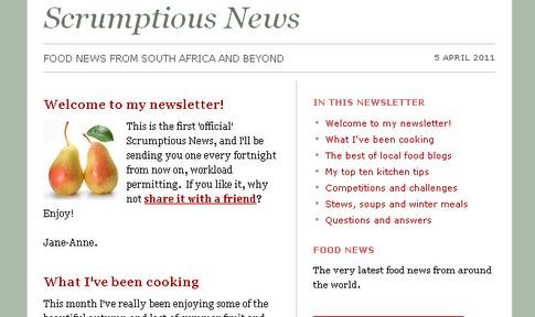 Scrumptious News