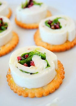 Sheet Mozzarella Rolls with Beetroot, Rocket and Lemon