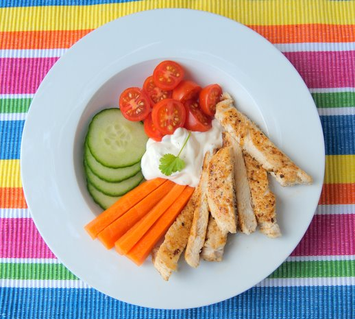 Quick, Easy Sandwich-Press Chicken Breasts for Kids and Singletons