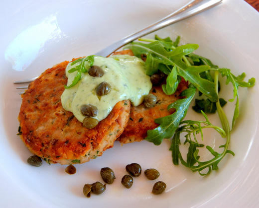 Fish Cakes with Tuna and Butter Beans